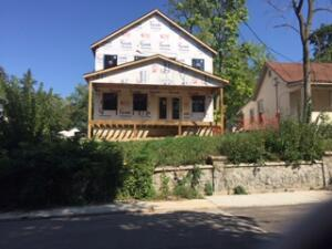 New Construction ,There Bedroom -2.5 Baths --Story and Half .Close to Medical Mile-- Over Looking Highland Park