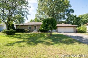 Beautiful ranch brick home move-in-ready 3 Bedroom 1.5 bath. Well maintained home with updates.  The home features two stall garage, large deck and oversized fenced back yard. All newer appliances.Make your appointment today and get inside this gem! Seller requests that any offers that come in be due by Monday 10/25 at 5pm !