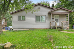 Make this your home!  3 bedrooms, 2 full bath home ready for you to call home.  Main floor has 3 bedrooms, lower has a finished office/room and full bath.  Plenty of storage, opportunity for more finished space downstairs.  Needs some TLC.