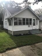 RARE! to find a home in Grand Rapids at this price! At the end of the road with no outlets so traffic is minimal. You will find this cute 2 bedroom with 1 bathroom, additional living space in the second story. Home has full basement with new furnace and water heater in 2018. Great for investor or owner occupant. New paint and flooring Move in ready. Offers held until 10/28/2021 9am