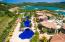 Aerial view of community pool