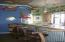 Second floor café, bar area