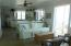 Penthouse open floor plan living space