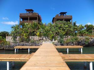 Mangrove Dock - Egret Condo 2, Roatan,