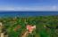 Aerial view of Villa Delfin