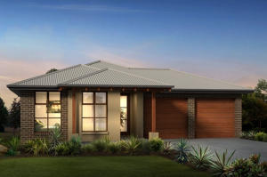 Architect Rendering for the near completion home