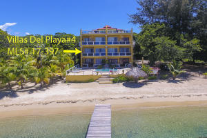 Bedrooms, Beachfront Condo – Three, Roatan,