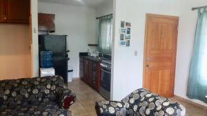 Upstairs, West Bay Beach, West Bay Mall Condo #1, Roatan,