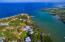 Aerial view of Mangrove Bight - a safe harbour