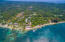 Aerial view of West End, you are just steps away to the public beach and all of the amenities West End has to offer.