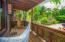 Spacious porch