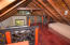The loft offers an addition guest bedroom.