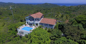 degree views, Hilltop Home with 360, Roatan,