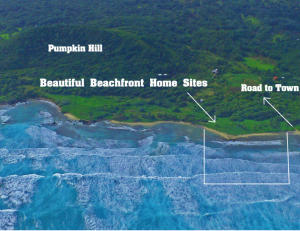 Pumpkin Hill Close to Ocean, 2-FOR-1 Views Great Homesite, Utila,
