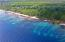 Front, Big Rock, 3 acres with 600 +/- Beach, Utila,