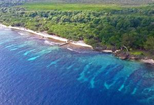 Front, Big Rock, 3.19 Acres, 600 Ft +/- Beach, Utila,