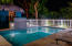 Enjoy a night swim