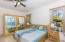 The first master bedroom offer ocean views and a private ensuite
