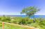 Clear ocean views of the north shore of Roatan