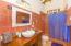 Private bathroom in the Seahorse suite