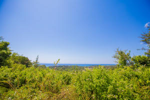 Clear ocean views from lot 27