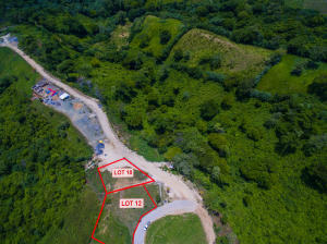 White Hills lot 18 is the only one being sold in this listing - aerial view of the lot.