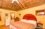 Spacious bedroom in Unit #5