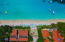 Aerial view of Mayan Princess and La Sirenas Resort in West Bay