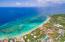 Aerial view of West Bay and the Las Sirenas Condos at Mayan Princess Resort