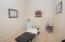 Chiropractic treatment room.
