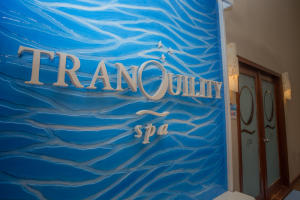 The TranQuility Spa is located on the 3rd floor of the main hotel building.