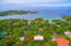 Stunning view of Mangrove Bight and the Mangrove Bight Beach - see location of the lot.