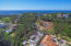Aerial view of homesite Lot 38A