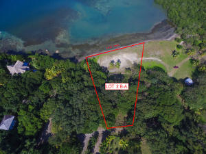 Aerial shot of your new beach lot
