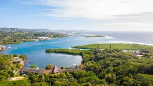 Ocean Views, Brick Bay, 2.45 Acres Lushes Property, Roatan,