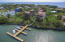 Aerial view of Mangrove Dock - this condo comes with a boat slip!
