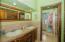 Ensuite bathroom in the master bedroom