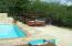 Pool by beach