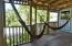 Common Area hammocks, first floor