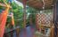 Apartment 2 has a semi private patio