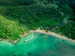 Beachfront 14.89 Acre Property, Soldado Beach:, Guanaja,