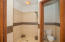Master bathroom on first floor