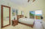 Master bedroom on the 2nd floor includes master bathroom, walk in closed and private deck