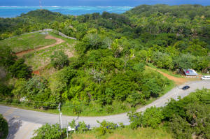 across Jonesville Entrance, 0.39 Acre Roadfront Lot, Roatan,