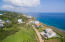 Aerial view of Lighthouse Estates lot 32