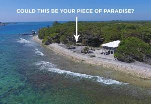 Stingray Point Dive Site, Coral Reef-front Beach Lot, Utila,