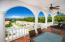 The spacious terrace is ideal for entertaining or just taking in the views.