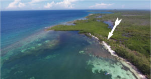 - Don Quickset - North Shore, 0.365 Acre Beachfront, Utila,