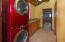 The mudroom/laundry room