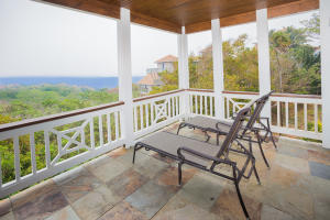 Enjoy the ocean breeze and views from the master bedroom
